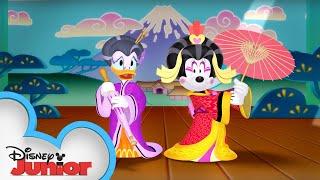 Kabuki Chaos | Minnie's Bow-Toons | Disney Junior