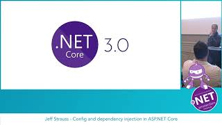 Jeff Strauss - Config and dependency injection in ASP.NET Core