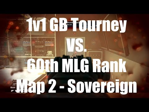 Gamebattles 1v1 TOURNAMENT Gameplay! 60th in the WORLD w/ 50+ Trophies! - Map 2 Sovereign