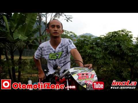 Eko kodok waktu terbaik Drag Bike trek nanjak - Wado Sumedang