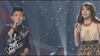Darren Espanto sings with Klarisse & Morisette
