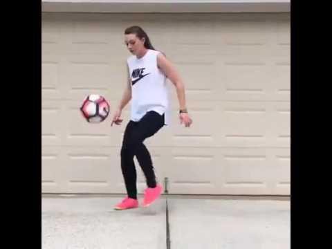 Mulher no futebol * Freestyle 2016