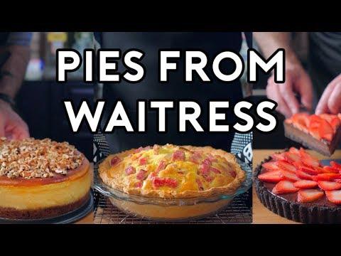 Binging with Babish Pies from Waitress