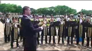 FANFARRA DRAGÕES DE TARABAI CONCURSO EM ROLANDIA - NOVEMBRO 2010
