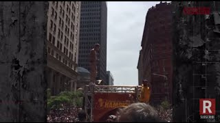 Machine Gun Kelly Performs At Cleveland Cavaliers Championship Parade