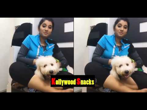 Xxx Mp4 Priyanka Vijay Tv Anchor Hot Boobs Bouncing With Her Cute Dog Video Must Watch 3gp Sex
