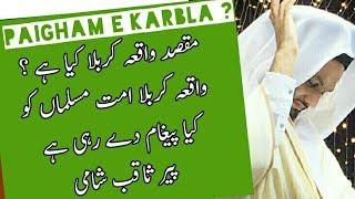 Pir SaQib Shaami pagaim of Karbla, Islamic Urdu hindi bayan