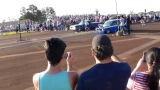 Ford Falcon VS Fiat 147 Picada  carreras auto 1/4 milla