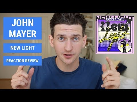 John Mayer New Light Review and Reaction Cover