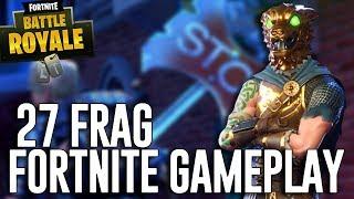 27 Frag Solo Gameplay! - Fortnite Battle Royale Gameplay - Ninja