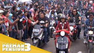 Konvoi motor pemain Preman Pensiun 3 [Launching PP3] [14 Des 2015]