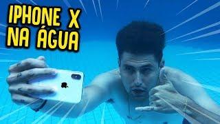 COLOQUEI MEU IPHONE X NA ÁGUA !! ( ESTRAGOU? ) [ REZENDE EVIL ]