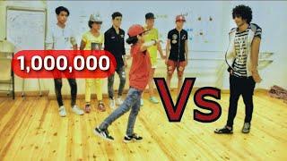 تحدى الرقص بين تلميذ واستاذه (Hip Hop)