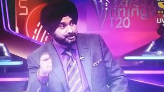 SRH VS KXIP(Shidhu's Speeches About Mustafizur)-Mid Match Analysis.