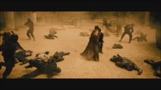 Batman vs Superman fight scene