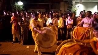 Ganpati Visarjan / Ganesh Chaturthi | Ladies playing Dhol Tasha drums Mumbai India 2015
