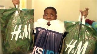 Huge H & M Pick-ups + Nike Boots | Holiday Haul | 2013