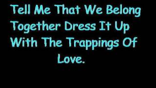 Ill Be  (your crying shoulder) By Edwin McCain w/ lyrics