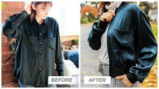 fall fashion HACKS and upcycles!