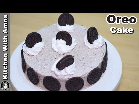 Oreo Cake Recipe Without Oven - Eid Special Cake Recipes - Kitchen With Amna