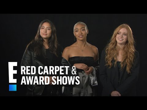 Sabrina Cast Plays Witchcraft Do s & Don ts Game E Red Carpet & Award Shows