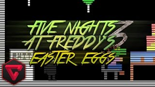 EASTER EGGS (SECRETOS) DE BB,CHICA Y PUPPET - FIVE NIGHTS AT FREDDY'S 3 iTownGamePlay | FNAF3