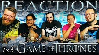 Game of Thrones 7x3 REACTION!!