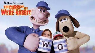 Cazando conejos en Wallace y Gromit