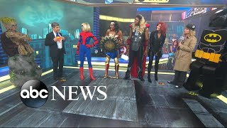 'GMA' anchors reveal their superhero-themed 2017 Halloween costumes