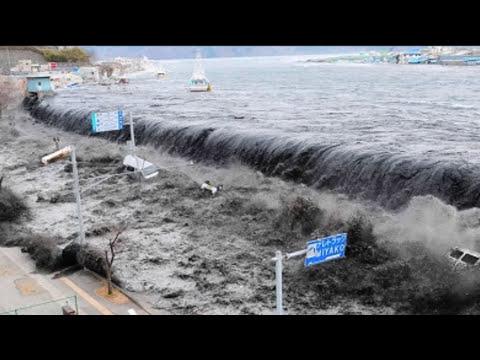 El tsunami mas grande del mundo