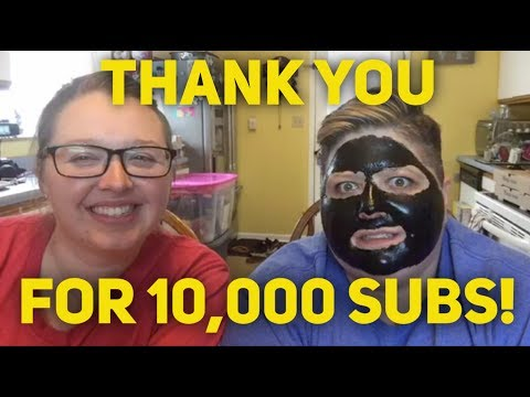 CHARCOAL FACE MASK GONE WRONG *10,000 SUBS EDITION*