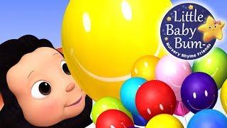 Color Balloons Song | Nursery Rhymes | Original Songs By LittleBabyBum!