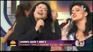 Andy V y Lourdes Sacín abrieron la gran final con este playback