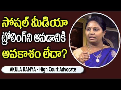 Xxx Mp4 Advocate Ramya Akula About Social Media Trolling SumanTv Legal 3gp Sex