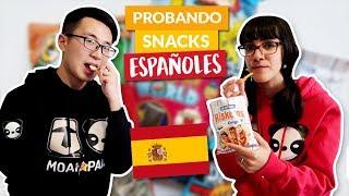 Probando snacks y golosinas españoles - Ni Hao Cassandra