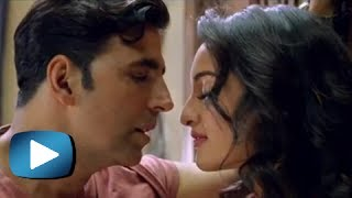 Holiday Movie Trailer Review - Sonakshi Sinha Hot Kissing Scene