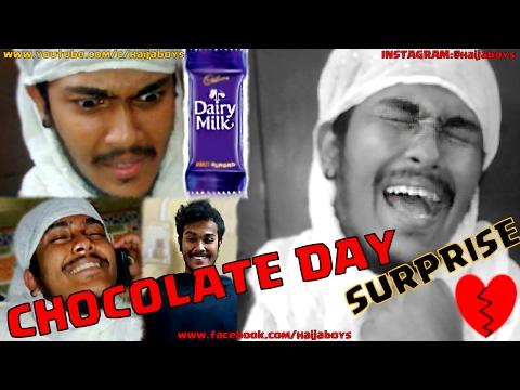 CHOCOLATE DAY Surprise || CONDOM || HAIJA BOYS