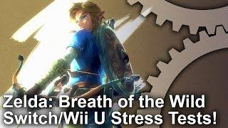 Zelda: Breath of the Wild Switch vs Wii U Frame-Rate Stress Tests!