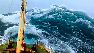 Sailing Ships Boats in Monster Storms, Pirates Attack | Heavy Weather Rough Seas - Ocean Maverick