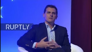LIVE:Valls and Vargas Llosa join Citizens party campaign event in Barcelona