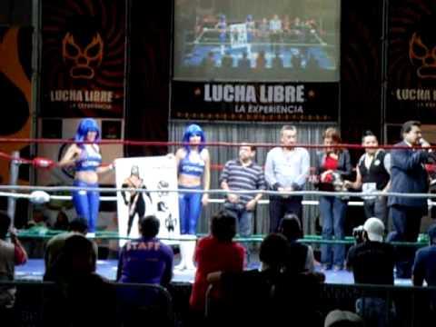Premiación concurso IWGR Arena Naucalpan a Eric Reyna Marrufo SKULLPING