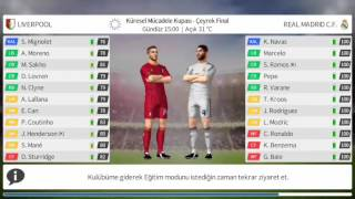 Dream League Soccer 2016 - GamePlay #3 Real Madrid VS. Liverpool