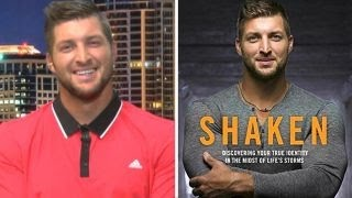 Tim Tebow opens up about his new book