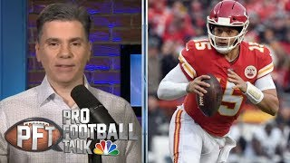 Can Patrick Mahomes step up for AFC title vs. New England Patriots?   Pro Football Talk   NBC Sports