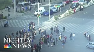 Significant Earthquakes Hit Mexico and Wales | NBC Nightly News