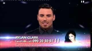 Live Show #2 Rylan Clark sings Deee-lite/PSY/Technotronic The X Factor UK 2012