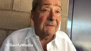 BOB ARUM TO MCGREGOR: YOU WANT PACQUIAO? YOU GOT IT; SQUASHES DANA WHITE BEEF, MEDIA EXPLOITED IT