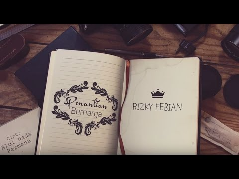 Download Rizky Febian - Penantian Berharga (Official Lyric Video)
