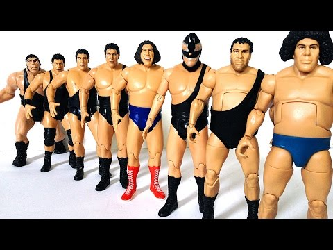ANDRE THE GIANT Action Figure Evolution Episode 15
