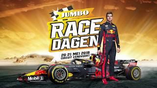 Jumbo Racedagen 2018: hét familie race-event met Max Verstappen